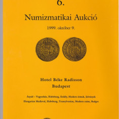 Catalog licitatie nr 6/1999, Pannonia Terra-Budapesta