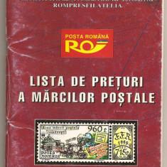 (C158) LISTA DE PRETURI 1996, FILATELIA