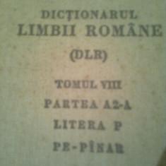 DICTIONARUL LIMBII ROMANE (DLR) - 1968 -1978 ~ 7 VOL.