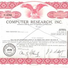 331 Actiuni -COMPUTER RESEARCH, INC. -seria PC 21765