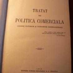 V.V.BADULESCU - Tratat de Politica Comerciala - 1945 - Carte despre fiscalitate