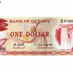 Guyana 1 dollar necirculata