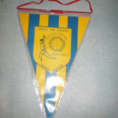 37 Fanion -TROFEUL CARPATI -Handbal Masculin-Oradea 1980 - Fanion handbal