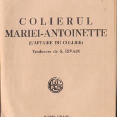Funck-Bretano / Colierul reginei Maria Antoaneta (editie interbelica)