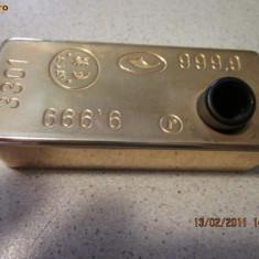 Suport pentru stilou-pix replica lingou din aur
