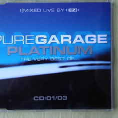 PURE GARAGE PLATINUM Vol.1 - Selectii - C D Original ca NOU - Muzica House