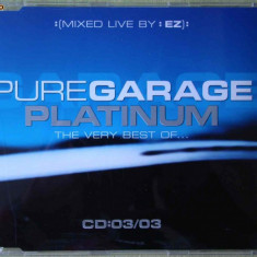 PURE GARAGE PLATINUM Vol.3 - Selectii - C D Original ca NOU - Muzica House