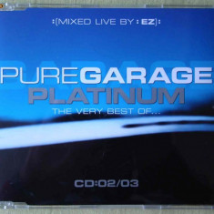 PURE GARAGE PLATINUM Vol.2 - Selectii - C D Original ca NOU - Muzica House