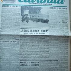 Cuvantul, ziar al miscarii legionare, 22 ianuarie 1941 - Carte Editie princeps