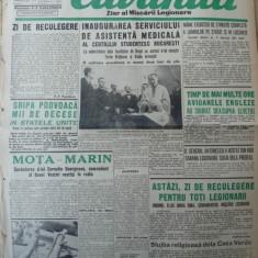 Cuvantul, ziar al miscarii legionare, 14 ianuarie 1941, 2 - Carte Editie princeps