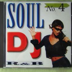SOUL D.J. No. 4 - Selectii R & B - C D Nou - Muzica R&B