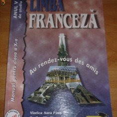 Manual Lb Franceza - Manual scolar teora, Clasa 10, Teora, Limbi straine