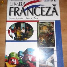 Manual Lb Franceza - Manual scolar rao, Clasa 9, Rao, Limbi straine