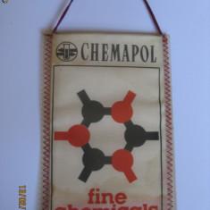 FANION DE COLECTIE CHEMAPOL DIN ANII 70