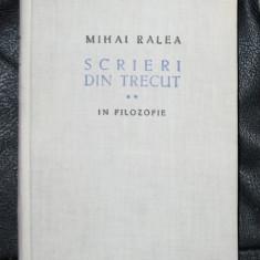 M Ralea Scrieri din trecut vol II ESPLA 1957 - Filosofie
