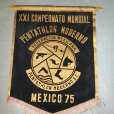 51 Fanion - XXI CAMPEONATO MUNDIAL, PENTATHLON-MEXICO 75