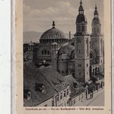 B14860 Sibiu Catedrala Greco-Catolica circulata