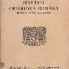 Revista Biserica Ortodoxa Romana - nr.3-4/1948