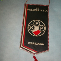 240 Fanion - Klubu Sportowego Piłkarskiego Polonia Warszawa S.S.A.