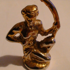 Figurina metal arcas soldat