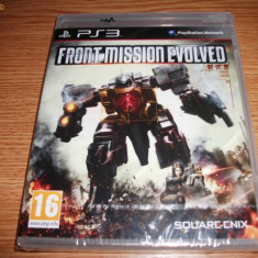 Joc Front Mission Evolved, PS3, original si sigilat, alte sute de jocuri! - Jocuri PS3 Square Enix, Shooting, 16+, Single player