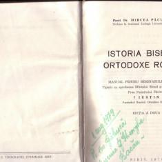 M. Pacurariu - Istoria Bisericii Ortodoxe Romane - Carti Istoria bisericii