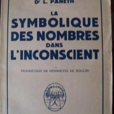 SYMBOLIQUE DES NOMBRES DANS L`INCONSCIENT PANETH