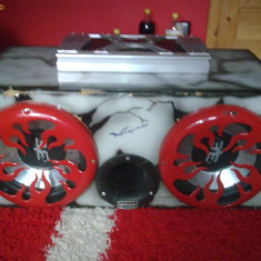 Tub de bas +amplificator - Subwoofer auto
