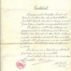 LOT ACTE JUDECATORESTI 1903-1925 - Hartie cu Antet