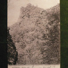 RAU DE MORI ( MALOMVIZ ) - CETATEA MEDIEVALA ANUL 1906