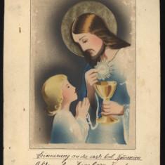 Acuarela religioasa catolica din perioada interbelica, Cernauti - Pictor strain, Altul