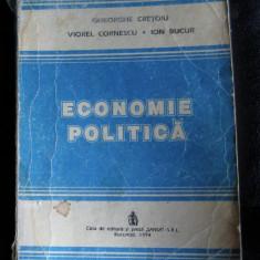 Cretoiu/Cornescu/Bucur Economie politica Sansa 1994 - Carte Economie Politica
