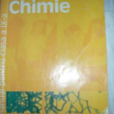 Manual CHIMIE ~cls. IX- edit. HUMANITAS EDUCATIONAL -colectiv autori - Manual scolar humanitas, Clasa 9