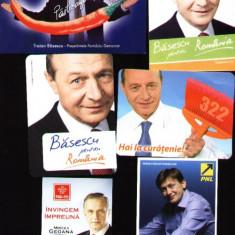 Set 6 calendare de buzunar, politicieni