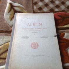 Album de paleografie romaneasca - Bianu / Cartojan - 1940, scrierea chirilica - Carte veche