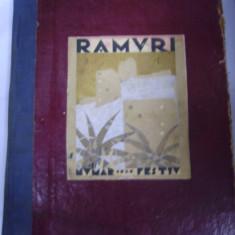 RAMURI - NUMAR FESTIV 1905-1929 - Carte Editie princeps