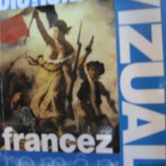 DICTIONAR VIZUAL FRANCEZ-ROMAN ---------------- 6000 DE CUVINTE!