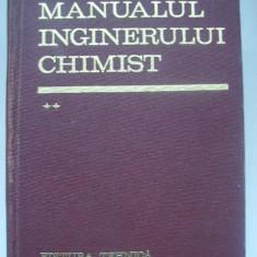 Manualul inginerului chimist (vol. II)