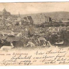 785. Sighisoara vedere generala 1899