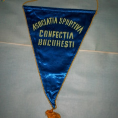 397 Fanion Asociatia Sportiva Confectia Bucuresti (handbal fete) - Fanion handbal