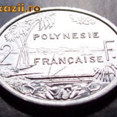 Polynesie Francaise 2 franc 2003 UNC, Australia si Oceania
