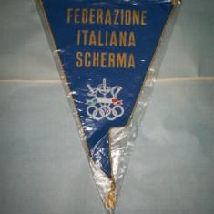 370 Fanion Federatia Italiana de Scrima - Fanion fotbal
