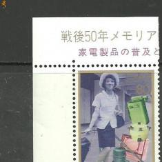 Japonia 1996 - MODA, FEMEIA IN SOCIETATE, timbru nestampilat, B36