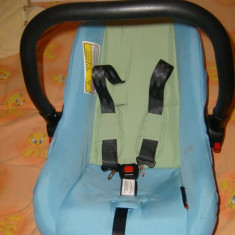 Scaun auto bebe, cosulet copil, 1-2-3 (9-36 kg), Isofix