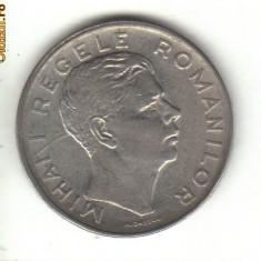 Bnk mnd romania 100 lei 1943 - margine dubla - Moneda Romania