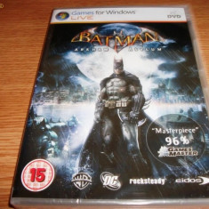 Joc Batman Arkham Asylum, PC, original si sigilat, 19.99 lei(gamestore)! - Joc PC, Actiune, 16+, Single player
