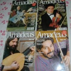 LOT 4 NUMERE REVISTA AMADEUS (2001/2002) [MUZICA CLASICA / LB. ITALIANA / FARA CD], Alte tipuri suport muzica