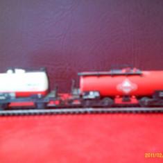Vagoane model TT tip cisterna 2 bucati - Macheta Feroviara