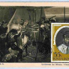 Ilustrata maxima Mihai Viteazul, moartea