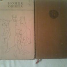 HOMER ~ ODISEEA 2 vol. ( vol.1+2 ) - Carte poezie